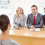 abogados y cliente. Asesoría laboral