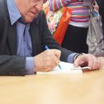 cliente firmando
