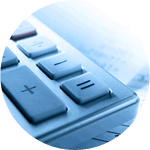 teclas calculadora. Asesoría contable