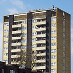 bloque de edificios